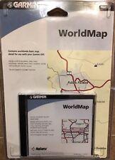 Garmin CD-Rom World Map 010-10215-01  - Brand New