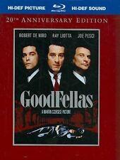 Goodfellas Blu-ray 2 Disc Digibook 20th Anniversary Edition