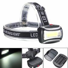 Mini plástico 3W 600Lm LED faro linterna antorcha para acampar senderismo