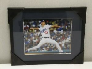 "L.A Dodgers Walker Buehler 8x10 Glossy Matted 11x14 Picture Frame   ""NEW"""