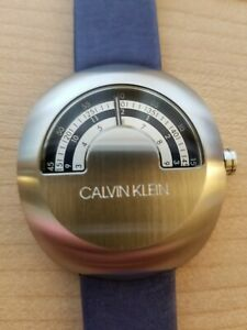 MYSTERY ROTATING DIAL WATCH, CRAZY HOUR, JUMP HOUR, SPACE AGE, FUTURISTIC, COOL