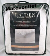 Ralph Lauren Bronze Comfort Classic QUEEN Mattress Pad