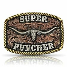 Dale Brisby Super Puncher Longhorn Buckle
