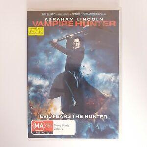 Abraham Lincoln Vampire Hunter DVD Region 4 PAL Free Postage - Action Horror