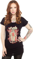 130545 Amazing Tattooed Lady Tunic Top Sourpuss Retro Carnival Circus Small
