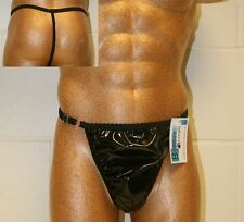 PVC Posing Pouch/Thong One Size with Extendable Waist Band - 15 Colours