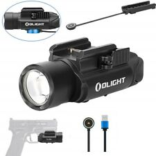 Olight Pl-Pro Valkyrie 1500 Lumen Rechargeable Weaponlight + Rpl-7 Remote Switch