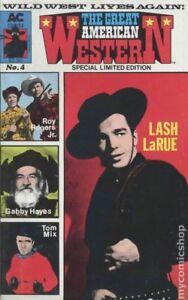 Great American Western #4 1988  Lash Larue, Roy Rogers jr.