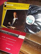 BIZET: Carmen + l'Arlesienne (suites) > Lamoureux Markevitch / Philips mono LP