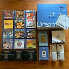 Dreamcast Console + Games. Like new!