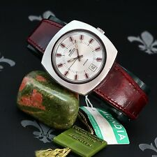 NOS & Complete 1960's MONDIA Parade Vintage Gents Dress Watch Auto ETA Cal. 2783