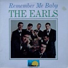THE EARLS - REMEMBER ME BABY - WOODBURY LBL - REISSUED LP - 16 TRACKS - 1977