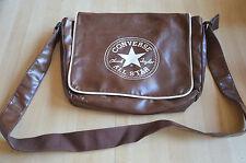 Sac bandoulière Converse All Stars marron cuir - Chuck Taylor 2008