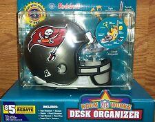 Tampa Bay Buccaneers Bucs Riddell NFL Mini Helmet Organizer~FREE PRIORITY SHIP!!