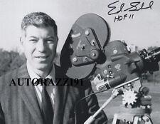 Ed Sabol NFL Hall of Fame RARE SIGNED 8x10 PHOTO AUTOGRAPHED