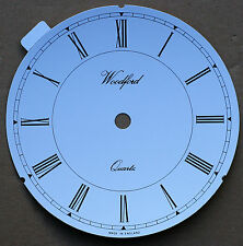 5.3/4 inch 146mm PVC WHITE ROMAN CLOCK DIAL, self adhesive,