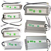 Power Supply IP67 Waterproof Adapter DC 12V/24V LED Driver Lighting Transformer