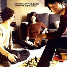 KINGS OF CONVENIENCE-RIOT ON AN EMPTY STREET (GATE)  VINYL LP NEW