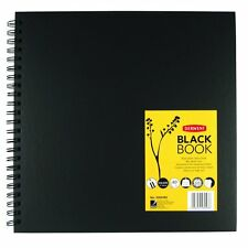 Black Paper Sketch Book- Square 30 x 30cm*
