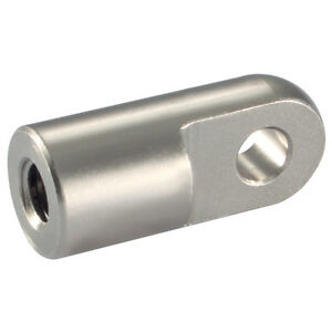 Air Pneumatic Cylinder Ram Piston Rod End Clevis Mount 20mm M8x1.25