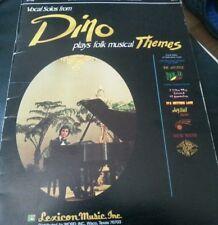 Dino Plays Folk Musical Themes Songbook Sheet Music Song Book KARTSONAKIS