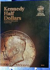 Whitman Kennedy Half Dollars VOL #2 1986-2003 Coin Folder, Album Book #9698