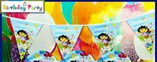 Party flag banner Dora  , birthday , parties