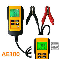 Digital Car/Van/Vehicle Battery Condition LCD Tester/Testing 12V - AE300
