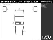 GEO TRACKER 1992 1993 1994 1995 DASH TRIM KIT b
