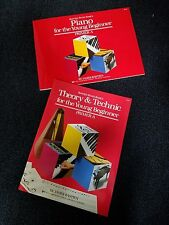 BASTIEN PIANO BASICS FOR THE YOUNG BEGINNER PRIMER A, THEORY & TECHNIC 2 BOOKS