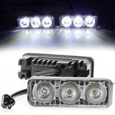 LED Daytime Running Lights Car Driving DRL Fog Lamp Light 12V Super White 3LED