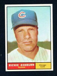 1961 TOPPS Baseball #88 RICHIE ASHBURN NRMT