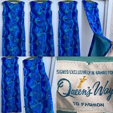 VTG Hawaiian Dress Designed Exclusively For Queens Way To Fashion Malia Hawaii