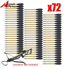 72x Aluminum Arrows Bolts for 50/80lbs Mini Pistols Crossbows Arrow Archery Hunt