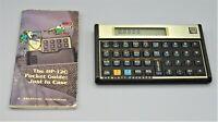 Vintage 1980s HP 12C Financial Programmable Calculator w/Gdebk Hewlett-Packard