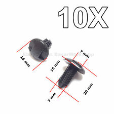 10X Interior Boot, Dashboard & Trim Panel Clips, for Toyota