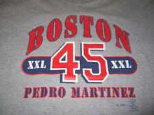 Vintage Sport Attack PEDRO MARTINEZ No. 45 BOSTON RED SOX XXL (XL) Shirt Jersey