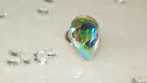 14x10mm Resin Stone with S/P Tie Tack/Cravat/Scrunchie/Scarf/Lapel Pin