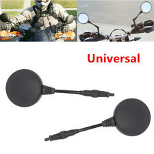 2x Folding Rear Mirror Fit for Dirt Bikes/ATV Motorcycle DR650 KLR650 CB750 KTM