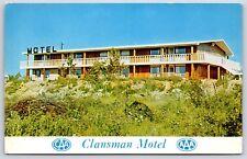 Clansman Motel on North Sydney By-Pass, Canada Newfoundland Chrome Postcard