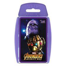 Marvel Avengers Infinity War Top TRUMPS Card Game