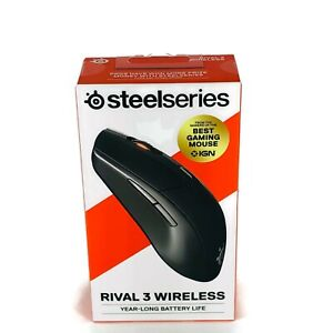 SteelSeries Rival 3 Wireless Gaming Mouse Brand New! OEM Gamers NIB Sealed