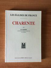 LES EGLISES DE FRANCE : CHARENTE