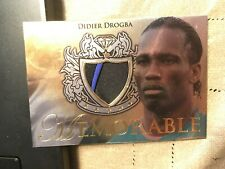 2011 Futera Unique Gold Jersey Card Didier Drogba