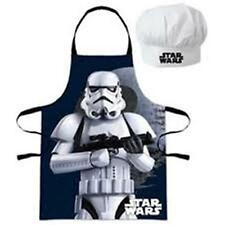 Disney STAR WARS - Petit Chef - for Kids - Apron + Chef Hat Set