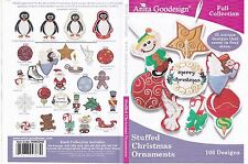Anita Goodesign Stuffed Christmas Ornaments Embroidery machine Design CD