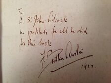 F Britten Austin, On The Borderland - 1st 1922, Signed to St John Adcock - Rare