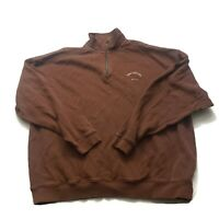 Tommy Bahama Mens XXL Brown Turtle Neck Pullover Long Sleeve Sweater Sweatshirt