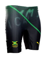 Puma Competition Short Tight Jamaica Größe XL Usain Bolt Olympia Lauf-Hose Run