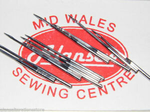 10 x  18's ( size 110's ) DOMESTIC FLAT SIDED BROTHER SEWING MACHINE NEEDLES